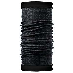 Buff 108974.00 Tour de cou Gao/Noir FR : Taille Unique (Taille Fabricant : Taille Unique)