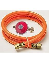 Gasprofi24 - Regulador y tubo para bombona de gas (150 cm de largo)