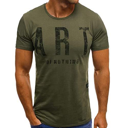9a891125f02d4 Celucke Kurzarm Muskelshirt Sport T-Shirt Herren Rundhals Stretch Basic  Shirts für Gym & Fitness - Passform Slim-Fit, Männer Kurzarmshirt Logo  Short ...