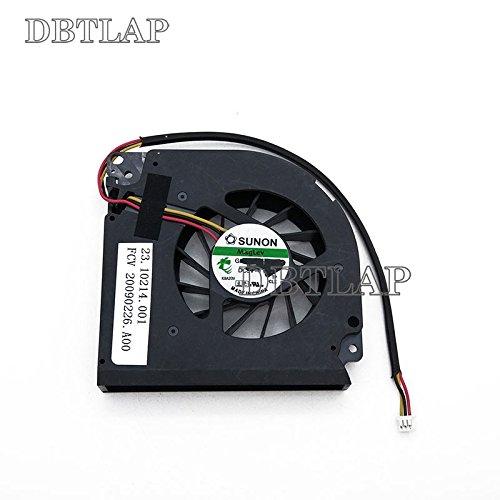 DBTLAP Ventole per CPU da Computer per Acer Extensa 5210 5220 5420 5420G 5230E 5230Z 5230 TM5520 TM5530 TM5710 5100 5520G 5930 5330 5930G 5630 5630Z 5630G 5430 Series 3pin DFS551305MC0T F703
