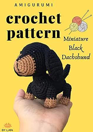 Dachshund dog free crochet amigurumi pattern – Moroshky – crochet ... | 445x315