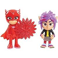 PJ Masks 2 Pack Figure Set - Owlette and Wolfie RIP