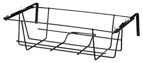 Fioriera 2000 rettangolare Regolabile in ferro Nero da terrazzo balcone...