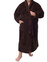 "'Harrison Albornoz hogar abrigo de la colección Sophie Bernard ""Bath & Home. fühl dich Wohl., microfibra, marrón, xxx-large"