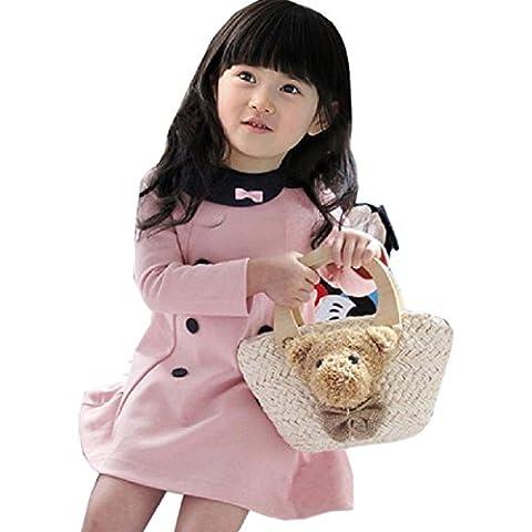 Malloom® Ropa Moda Niñas muchacha Vestido de fiesta princesa falda