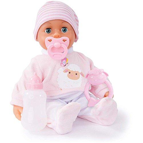 Bayer Design 93824AI - First Words Baby - Babypuppen, 38 cm, Rosa Preisvergleich