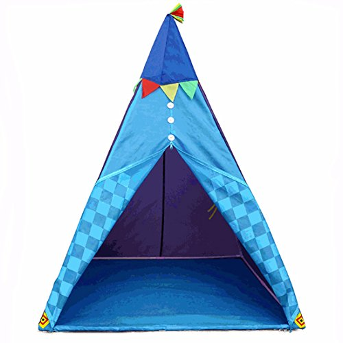 Lightweight Folding Kids Teepee Tent Play House For Indoor Outdoor Garden Beach Toys By Hi Suyi