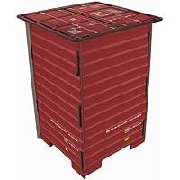 Preisvergleich für Werkhaus - Photo-Hocker in Container-Optik, Rot, 42x29,5x29,5cm (CO1042)
