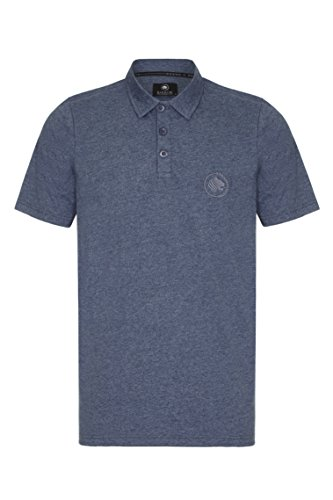 Barror London Herren Poloshirt Blau - Dark NavyMarl