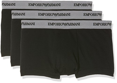 Emporio Armani Underwear Men's 111357CC717 Trunk (Pack of 3)