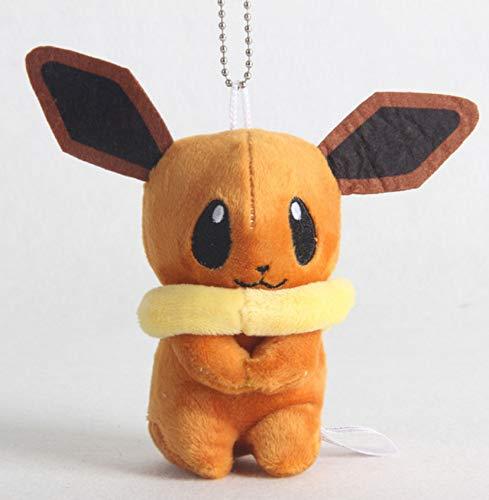 Plüsch Spielzeug Schlüsselanhänger Kinder Aktivität Geschenke Weiche Puppe Geschenk Anime Baby Lange Ohren Orange