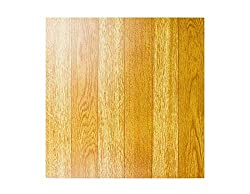 NEW 50 VINYL FLOORING TILES Light Plain Wooden Floor Effect SELF-ADHESIVE HOME SHOP KITCHEN BATHROOM DIY