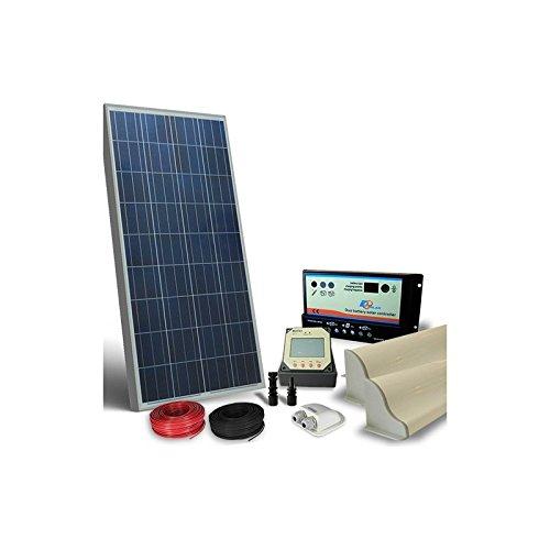 Los?Kit solares caravanas Pro? Incluyen panel solar, regulador de carga, pantalla de Control, soportes de fijación, pasacables, conectores, cables de conexión.