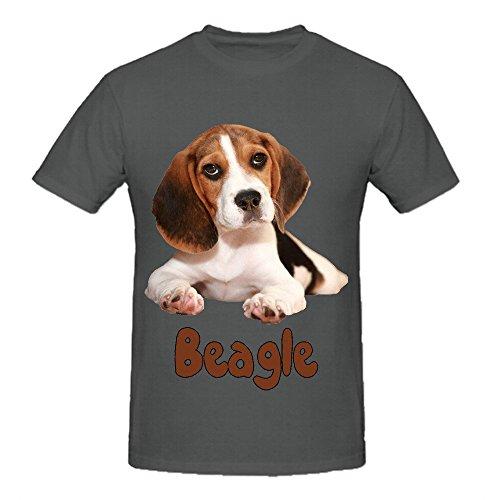 the-beagle-dog-men-o-neck-design-tee-grey