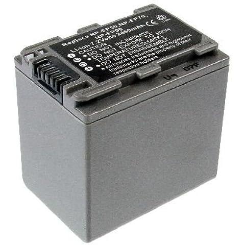 NP de NP-FP30/NP-FP50/NP de fp60de/NP FP70/NP FP71/NP de FP90batería de repuesto–4038338020878EAN vídeo batería (Ion de litio, ST,
