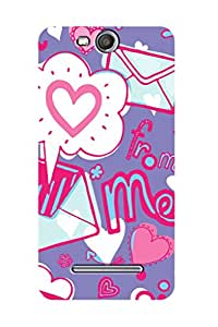 ZAPCASE Printed Back Case for MICROMAX CANVAS JUICE 3