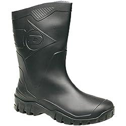 Dunlop Hombres duk680211 Botas - Negro, 9 UK
