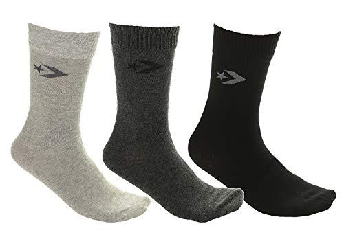 Converse Basic Men Crew Socken 3 Paia E745B 43/46