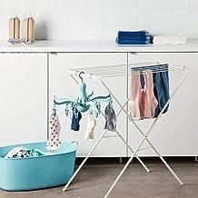 Oscuro Azul IKEA para colgar secador w 16 clips pin lavandería ropa Hanger pulpo plegable Pressa