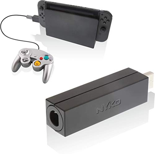 Nyko Retro-Controller-Adapter - Single Port GameCube Controller Adapter für Nintendo Switch, Limited Edition
