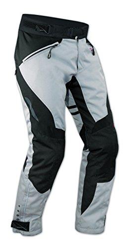 A-Pro Pantaloni Impermeabile Moto Imbottitura Termica Estraibile Traspirante Grigio 38