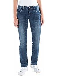Timezone Damen Straight Jeans Slim Emilia Super Stretch