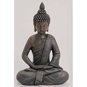 Buddha Figur Stein | Deine-Wohnideen.de