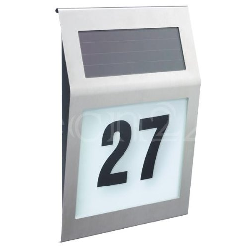 Solar-Hausnummernleuchte 011014 SOL6