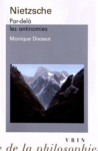 Nietzsche: Par delà les antinomies