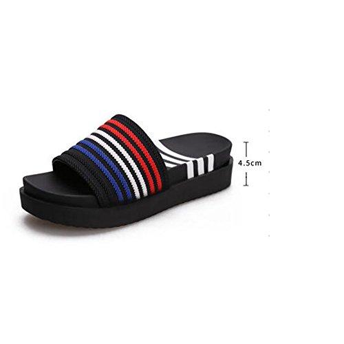 Estate Sandali Sandali da donna primavera Tutte le scarpe da ginnastica adatta alla moda Summer Dress Casual Low Heel Colore / formato facoltativo 1001