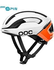 POC Omne Air SPIN Helmet, Unisex Adulto, Zink Orange avip, Med