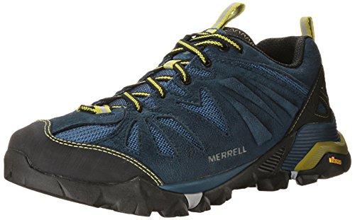 Merrell Capra, Chaussures de Randonnée Basses homme Bleu (Tahoe)