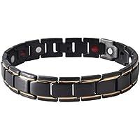 Männer SL0068 Titan Stahl Gesundheit Energie Anti-Müdigkeit Armband Luxus Männlichen Elastischen Armband Armreif... preisvergleich bei billige-tabletten.eu