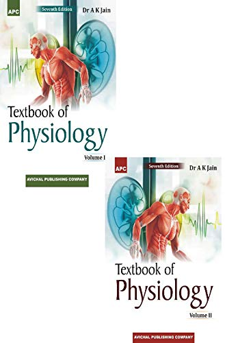 Textbook of Physiology (Set of 2 Volumes) (2018-19 Session)