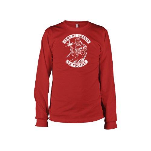 TEXLAB - Sons of Anakin - Langarm T-Shirt Rot
