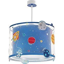 Dalber Planets Lámpara de Techo, Azul, 33 x 33 x 25 cm