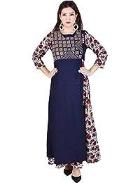 The Style Story Women's Rayon Ethnicwear Kurti