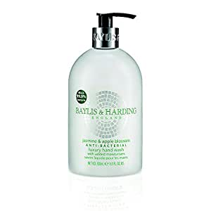 Baylis & Harding Jasmine & Apple Blossom Anti Bacterial 500ml Hand Wash