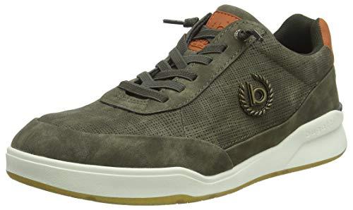 bugatti Herren 322655015900 Sneaker, Grün, 44 EU