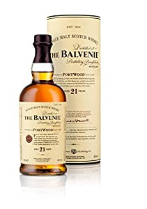 The Balvenie 21 Year Old Port Wood Finish Single Malt Scotch Whisky 70cl Bottle from The Balvenie