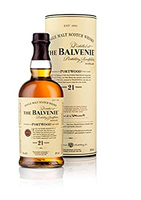 The Balvenie 21 Year Old Port Wood Finish Single Malt Scotch Whisky 70cl Bottle