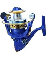 Winbest Azul CNC Mango Carretes Pesco 10 + 1bb Rodamiento LDII4000(LDII-4000)