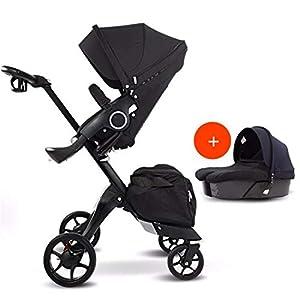 BABIFIS 75cm High Landscape Stroller Hand Can Sit Reclining Folding Shock Absorber Baby Stroller I   1