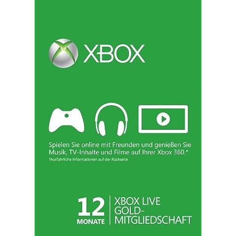 Xbox Live - Gold Card 12 Mesi [Edizione: Germania]