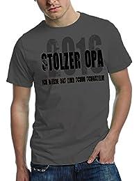 German Fashion Brand Opa 2016 T-Shirt | stolzer Opa 2016 - ich werde das Kind schon schaukeln