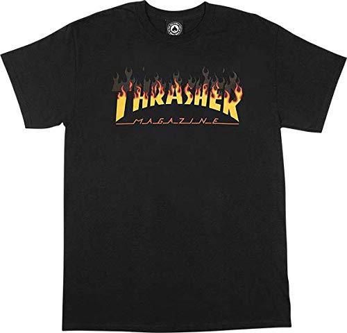 Thrasher magazine- t-shirt bbq - black - m