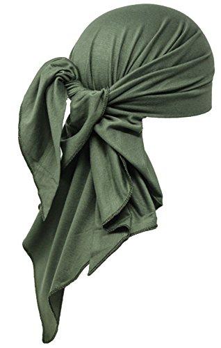 Deresina Headwear Unisex Extra Große Baumwolle Bandana (Khaki)