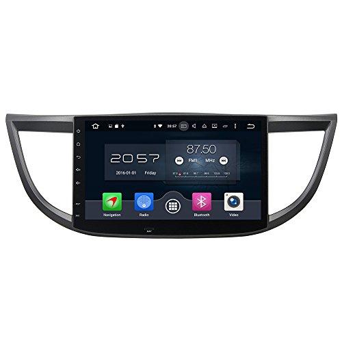 10.1Android 6.0Octa Core 1DIN Auto Head Unit GPS Navi für Honda CRV 2012–2015kapazitiver Touchscreen WiFi 3G/4G Auto Radio Video Player (Video Hon)