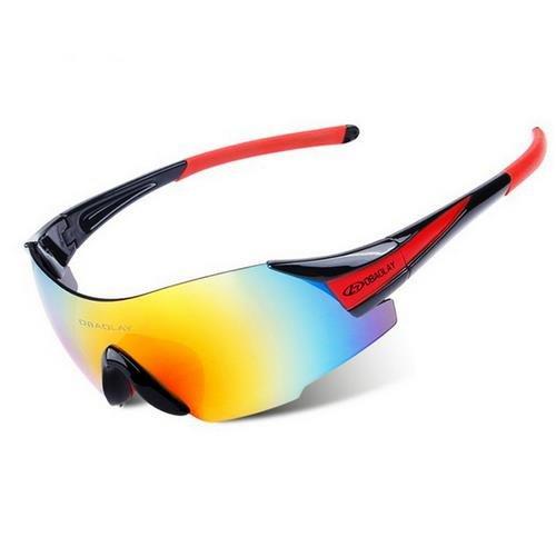 ANSKT FahrradbrillenUV400 Schutzbrillen Fahrradfahren Windproof Motorcross Sonnenbrillen Frameless Gafas Cicismo, 1