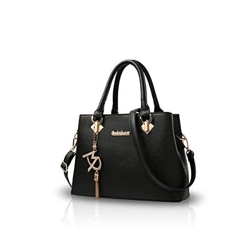 NICOLE&DORIS Women Fashion Handbag Crossbody Shoulder Purse Bag for Ladies Water Resistant Totes Soft PU Leather